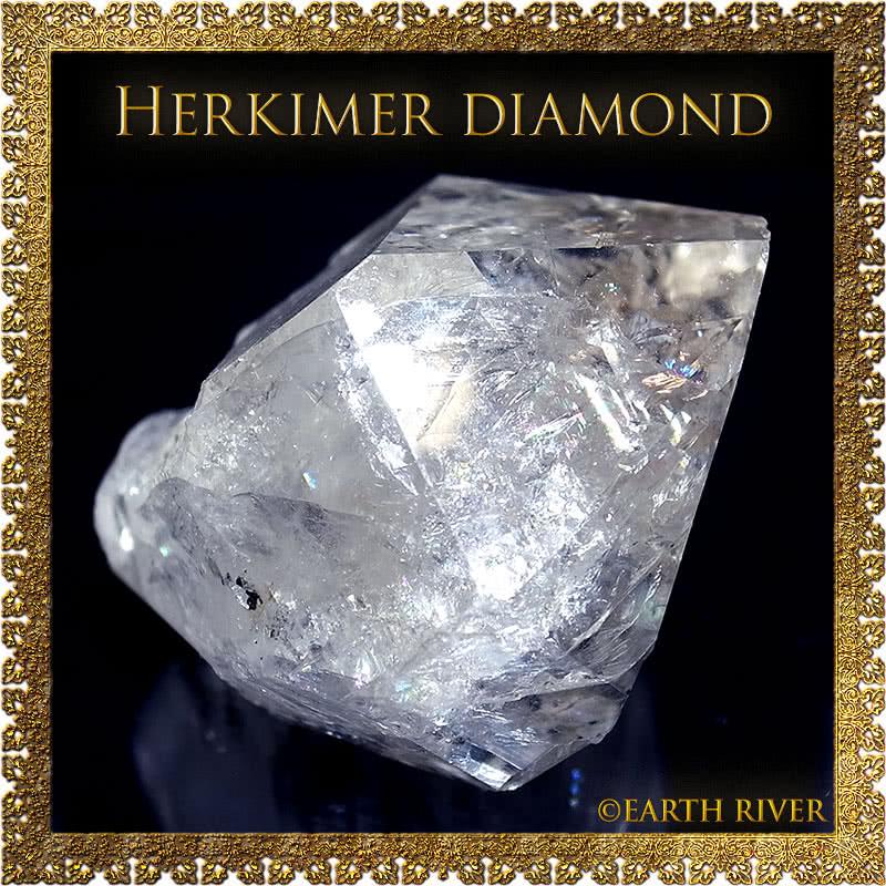 ハーキマーダイヤモンド クリスタル 3